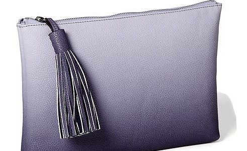 Ombre clutch